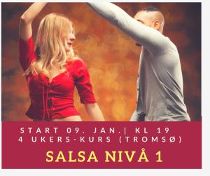 Salsa nivå 1 (4-ukerskurs )