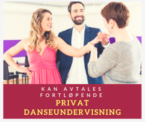 Privat danseundervisning