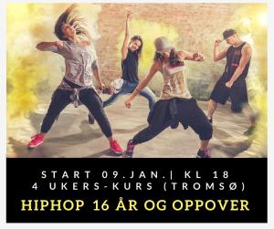 Hiphop 16 år og oppover