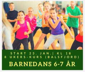 Barnedans 6-7 år Balsfjord